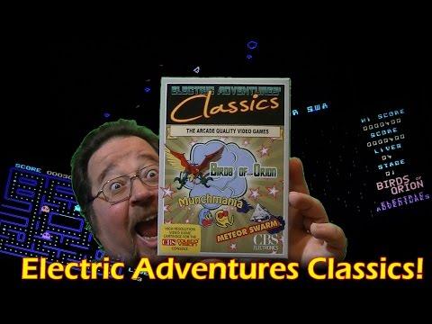 CV: ColecoVision Electric Adventures Classics!