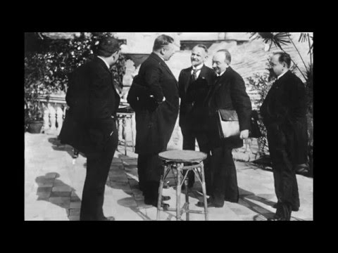 16th April 1922 The Treaty Of Rapallo Signed By Russia And Germany