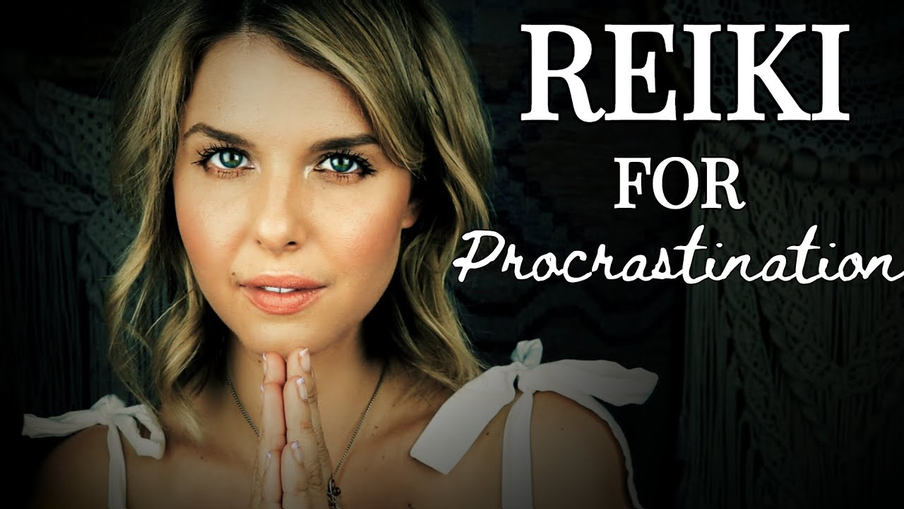 REIKI for Procrastination/ASMR Plucking Out Self-Doubt & Perfectionism/Releasing Negative Self-Talk