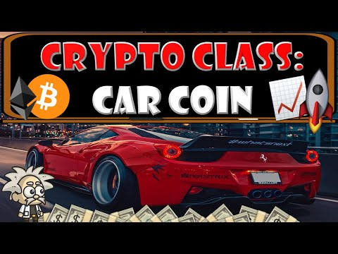 CRYPTO CLASS: CAR COIN | BUY A CAR WITH CRYPTO | FUTURE OF AUTOMOTIVE PURCHASING | CCM NATIVE TOKEN
