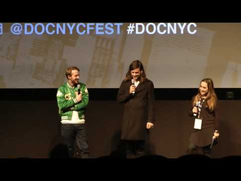 "Q&A for ""We Wrote This Yesterday"" World Premiere at DOC NYC 2016"