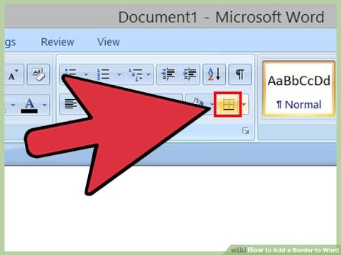 How to Add Page Borders to Microsoft Word Document - YouTube