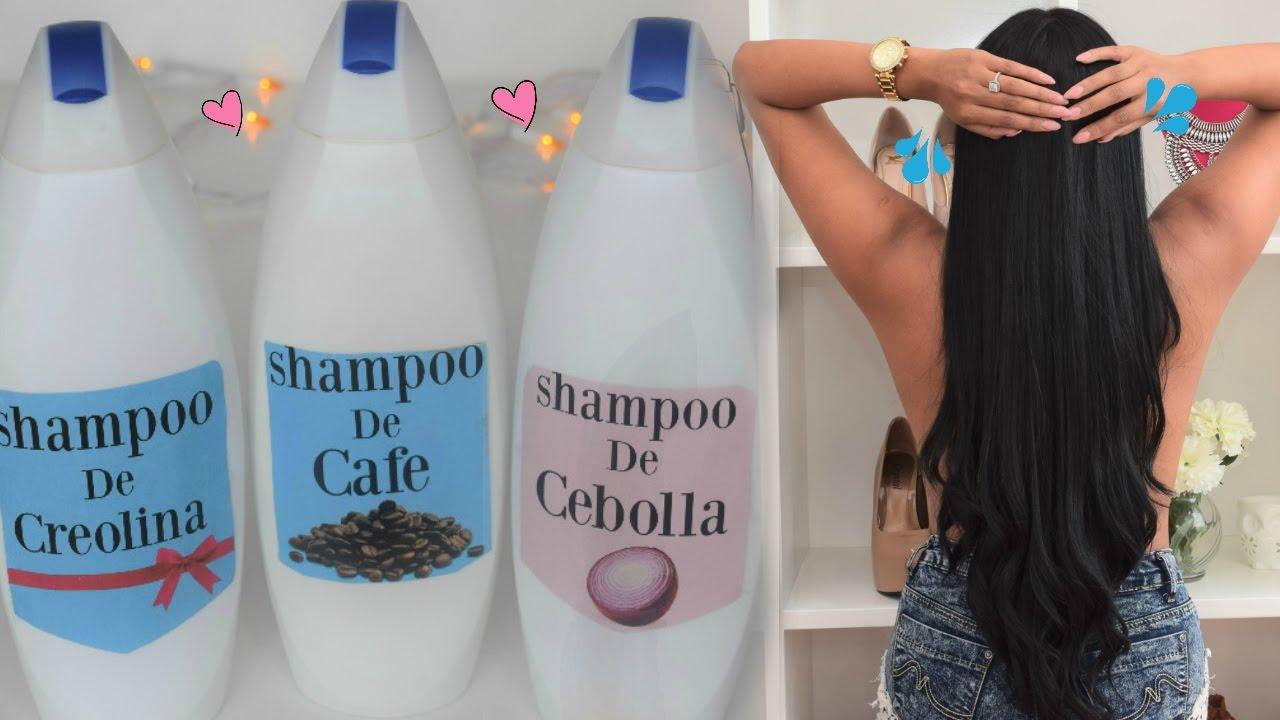 SHAMPOOS para HACER CRECER EL CABELLO SUPER RAPIDO????Còmo lavarse el cabello Correctamente  ????