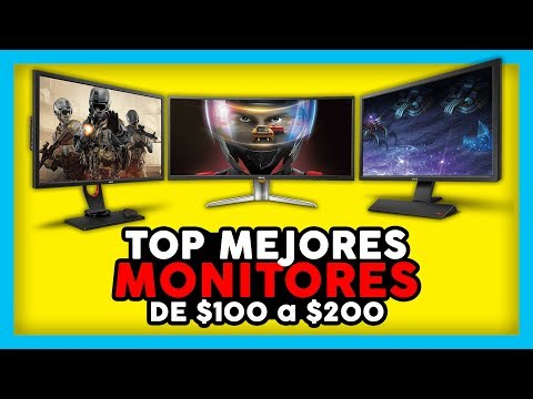 TOP 5 MEJORES MONITORES $100 - $200 | PC GAMER