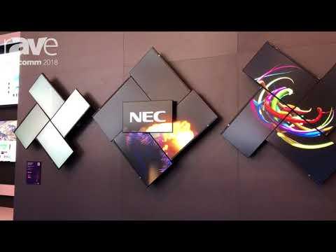 InfoComm 2018: NEC Display Exhibits MultiSync E Series Desktop Displays
