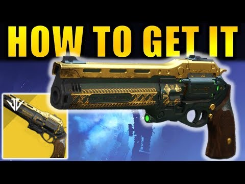 Destiny 2: How to Get The LAST WORD Exotic Hand Cannon!