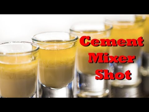 how to make a cement mixer shot drinks made easy youtube. Black Bedroom Furniture Sets. Home Design Ideas