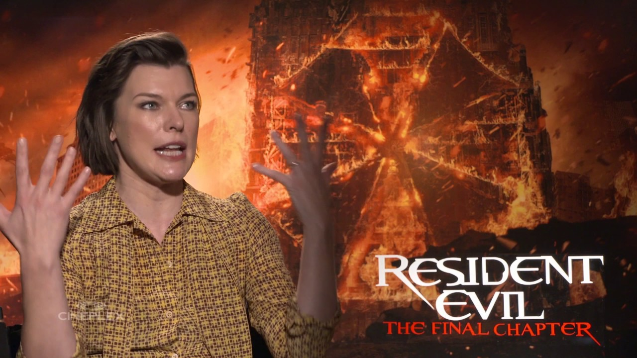 Resident Evil The Final Chapter Interview