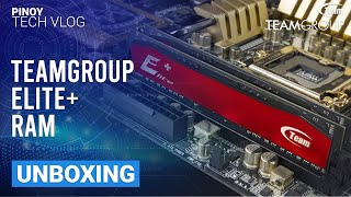 Team Group Elite+ 8GB DDR3 1600Mhz RAM Quick Unboxing - TAGALOG