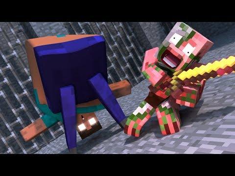 Top 5 Minecraft Herobrine Life - Minecraft Animations For Kids