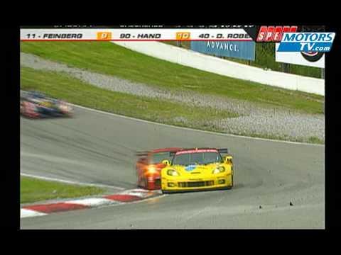 ALMS Mosport Race Finish 2009 Motorsport Tv Global