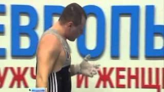 Тяжелая атлетика  Чемпионат Европы 2011  Россия Казань  Мужчины  94 кг
