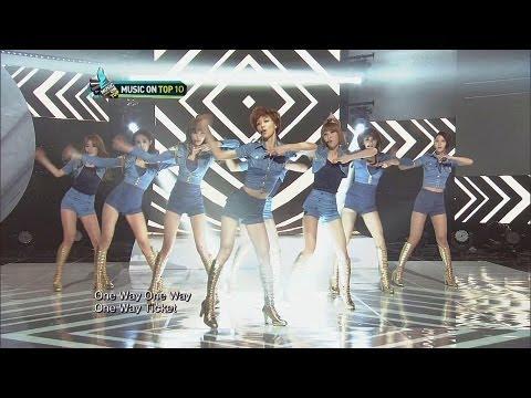 [Music On Top] Nine Muses (나인뮤지스) - Ticket (티켓)