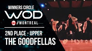 THE GOODFELLAS  | 2nd Place Upper | World of Dance Montreal 2017 | Winners Circle | #WODMTL17