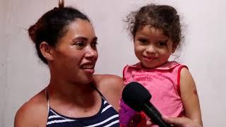 Mãe grávida de 09 meses e, mais 3 filhos passam fome com seu esposo.