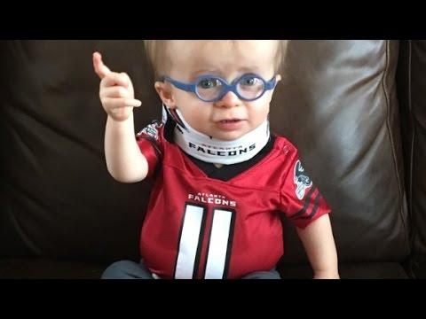 Meet the Falcons' cutest football fan