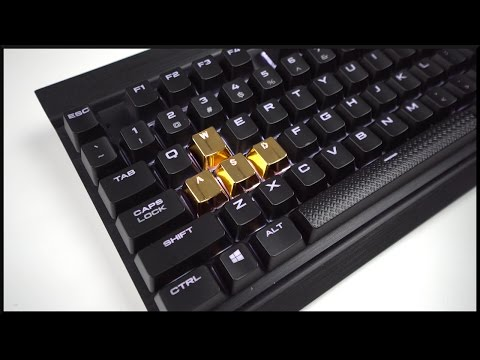 GOLD Mechanical Keycaps?!
