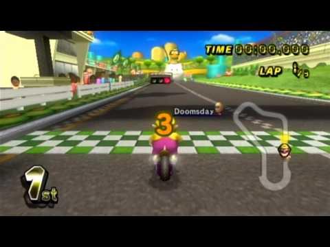 Mario Kart Wii 9999 VR Run Part 12