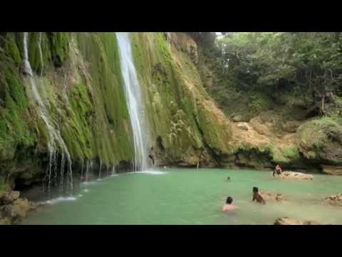 el-limón-waterfall,-samaná