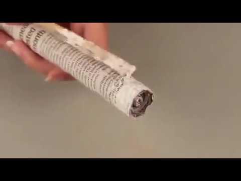 Making Eco Friendly Dandiya Sticks