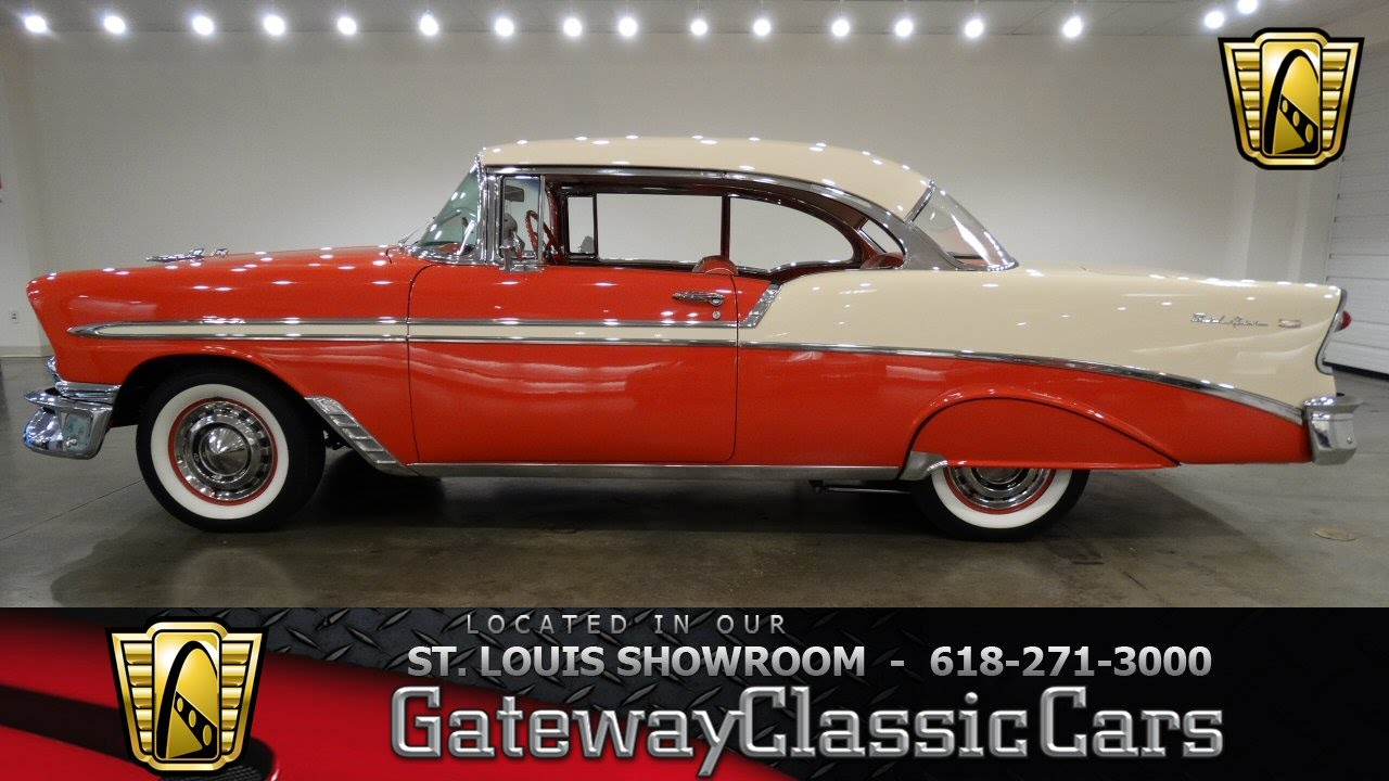 1956 Chevrolet Bel Air - Gateway Classic Cars St. Louis - #6516