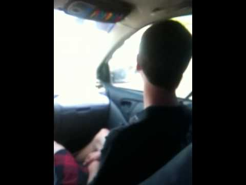 Nick Jeffery betting buck in the front seat