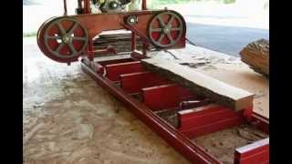 Homemade Band Sawmill First Version