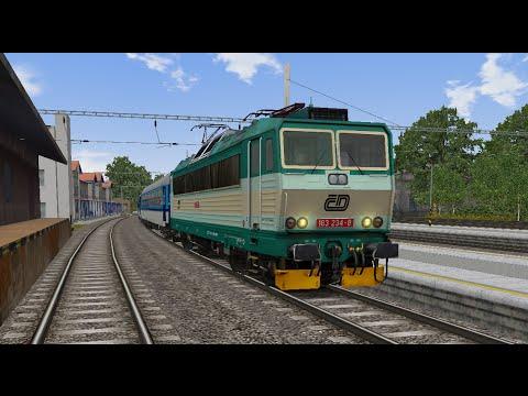 Microsoft Train Simulator - trať 321   Os 3729 Šumperk - Olomouc hl. n. Ep. 1 - YouTube