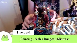 Painting - Ask a Dungeon Mistress