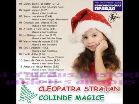 cantece de iarna si Craciun – Cleopatra Stratan – Intr-un miez de noapte