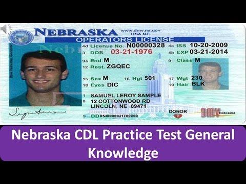 Nebraska CDL Practice Test General Knowledge