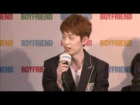 Boyfriend's Japan Debut Press Conference 120529 1/2