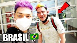 ¡VIAJO a BRASIL y ME RENCUENTRO con THEDONATO 9 MESES DESPUÉS! *épico* VLOG