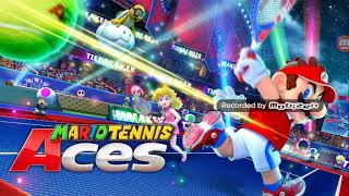 I just played mario tennis Aces