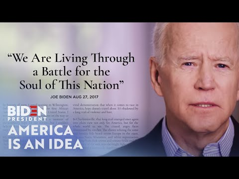 Joe Biden For President: America Is An Idea