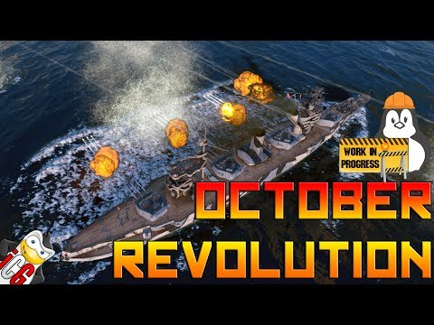 World of Warships - October Revolution Preview - Seal Clubbing Only