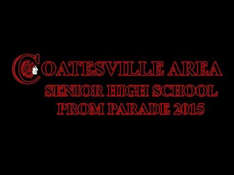 Coatesville Area Senior High School Prom Parade 2015