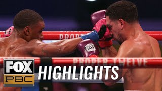 Re-live Errol Spence Jr.'s win over Danny Garcia in return to ring | HIGHLIGHTS | PBC ON FOX