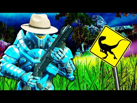 Jurassic Park: The Lost World in Halo 5!