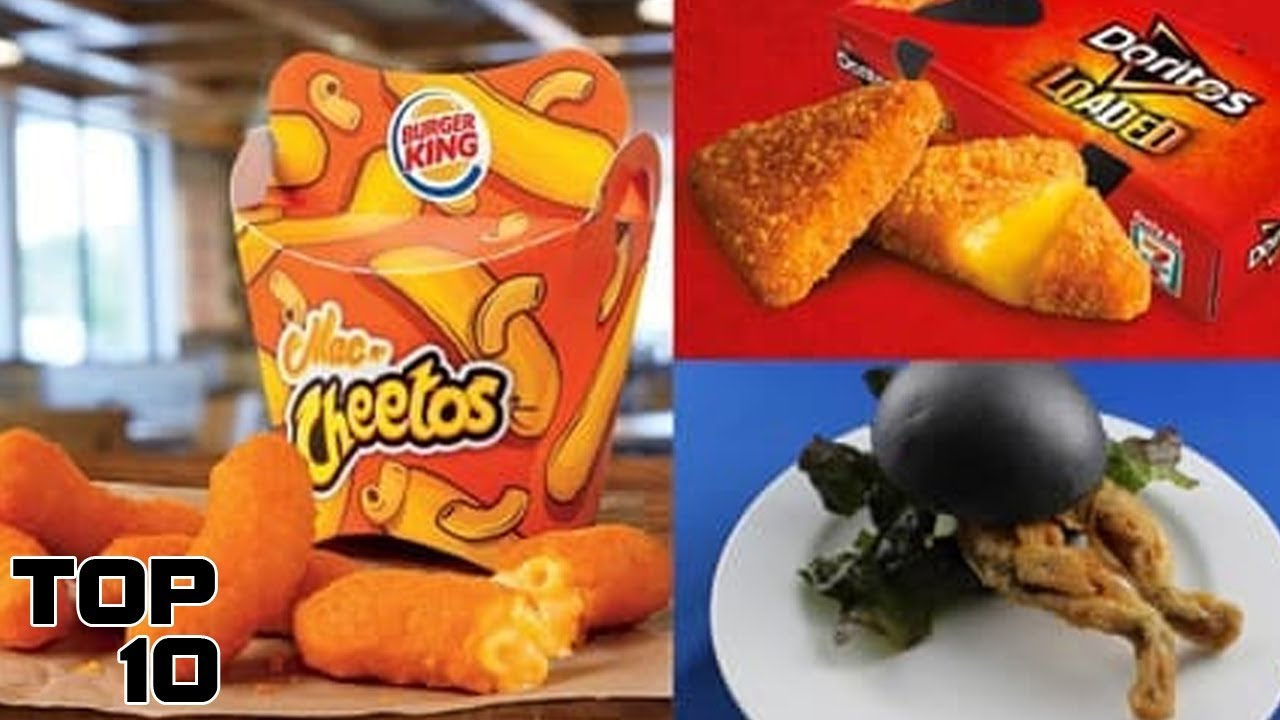 Scary Fast Food Items