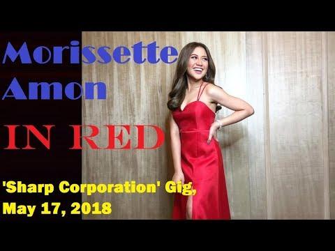 Morissette Amon OOTD, Gig Yesterday, 'Sharp Corporation', May 17, 2018