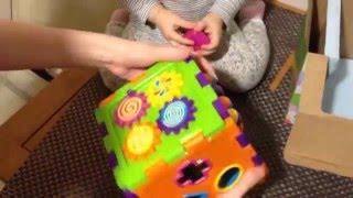 Игрушка развивающий кубик сортер