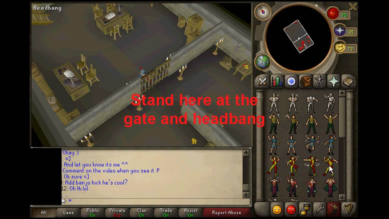 Runescape - How to get into Varrock Bank Basement Safe