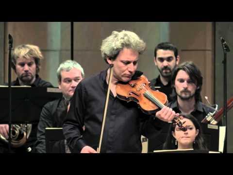 Sibelius - Violin Concerto in D minor, Op. 47 (1st Movement) by David Grimal & Les Dissonances