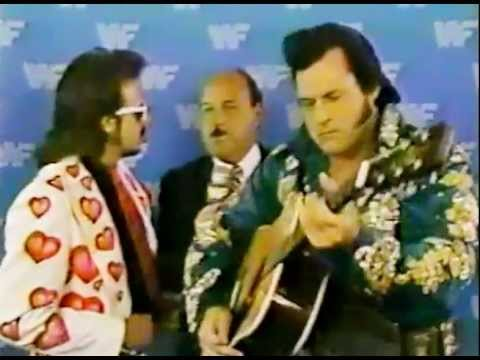 Honky Tonk Man Interview Boston Gardens