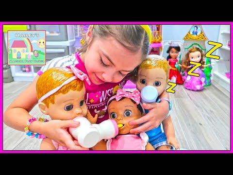Pretend Play Babysitting Baby Dolls for Children!