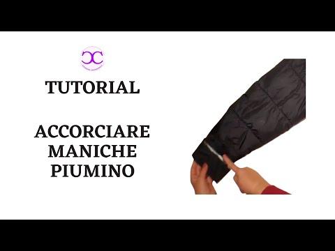 Un Come E Piumino Youtube Accorciare Stringere Le Di Maniche RjqA4L35