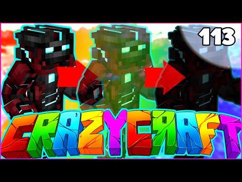 "Minecraft CRAZY CRAFT 3.0 SMP – ""IRON SUIT OF STEALTH"" – Episode 113"
