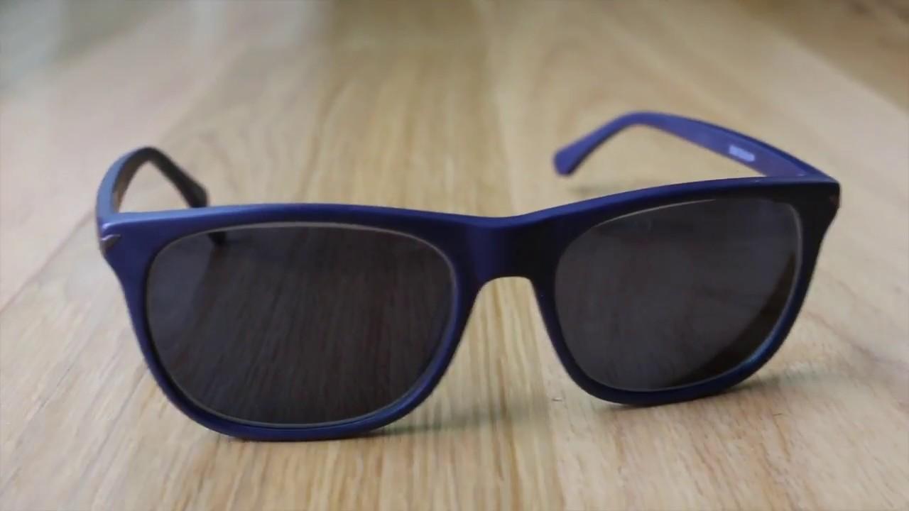 913c85161e0 Zenni Optical Sunglasses Review La Brea Square   112416 Blue Frame ...