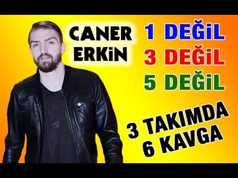 Caner Erkin 6 futbolcu ile kavga etti .. Kimlerden dayak yedi